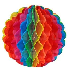 Шар подвесной, многоцветный