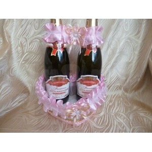 Корзинка для шампанского - 028