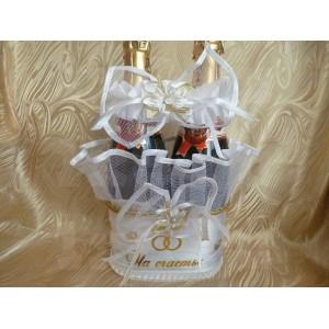 Корзинка для шампанского - 029