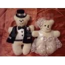 Свадебные мишки для декора