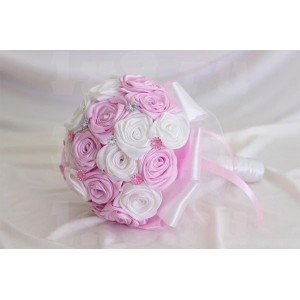 Букет-дублер - 019, атласные цветы