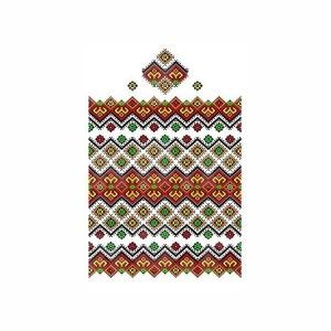 Рушник орнамент - 076, габардин, 1.5м