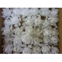 Цветок на шпильке, хризантема с напылением