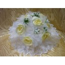Букет-дублер из атласных цветов