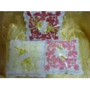 Подушка для колец, рельефная, габардин